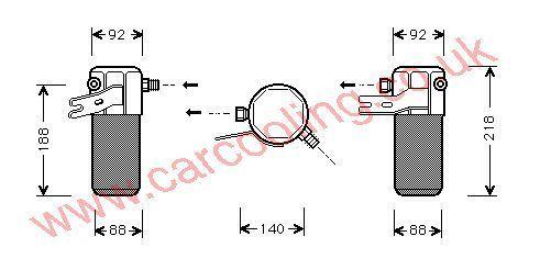Drier Audi A8 4D0820193A
