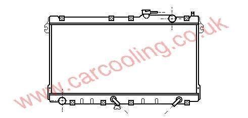Radiator Mazda MX5 B64J-15-200 A