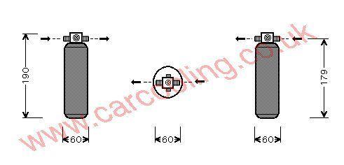 Drier Kia Sportage I OK01A61500A