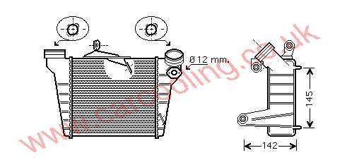 Intercooler Skoda Fabia 6Q0.145.804 E / B