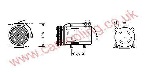 Compressor Hyundai H 100    9765143050
