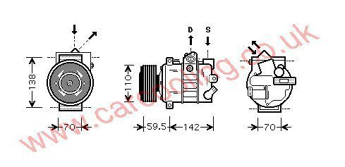 Compressor VW Touran    1K0820803Q