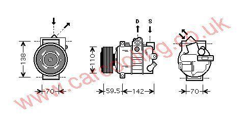 Compressor Skoda Octavia 1K0820803Q