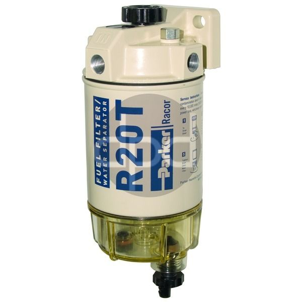 Racor 200 Series Hand Primer Fuel Filter Water Separator