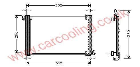 Condenser Fiat Brava    46527737