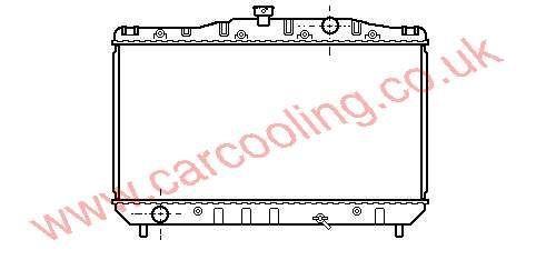 Radiator Toyota Corolla III    16400-14060