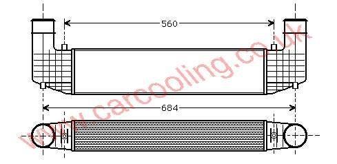 Intercooler Seat Alhambra I    7M0.145.805