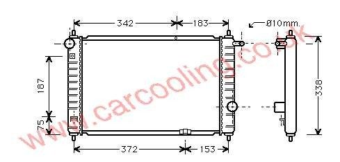 Radiator Daewoo Matiz    96596288