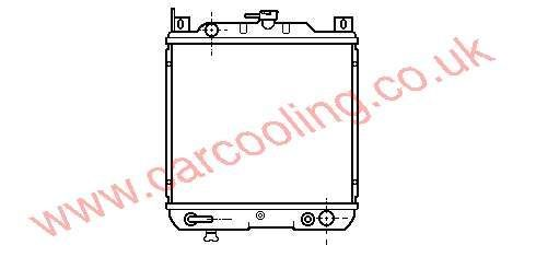 Radiator Suzuki Swift    17700-63E20