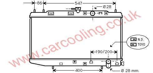 Radiator Honda Civic III 19010-PM4-003 / 004
