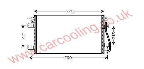 Condenser Opel Movano    4403238 - 09111238