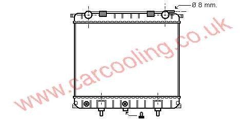 Radiator Rover Range Rover    PCC 108460 /