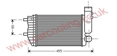 Intercooler Citroen Relay    3840000