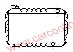 Radiator Bedford Rascal 17700-85200