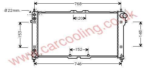 Radiator Mazda 626 IV KL20-15-200 G