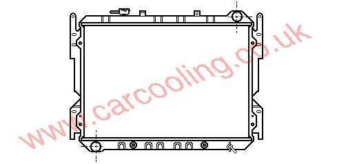 Radiator Mazda 929 III FE82-15-200 A