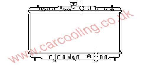 Radiator Honda Prelude III 19010-PK1-013 / 014