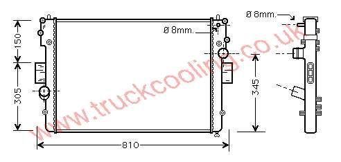 Radiator Iveco Daily V    504045489