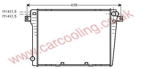 Radiator BMW 3-Series E30    1176898