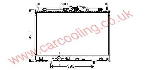 Radiator Mitsubishi Pajero Pinin    MR 431239