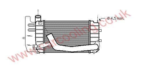 Intercooler Toyota Yaris ( Prod France ) 17900-0N010
