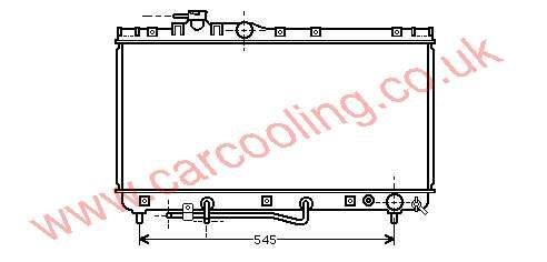 Radiator Toyota Celica IV 16400-7A070