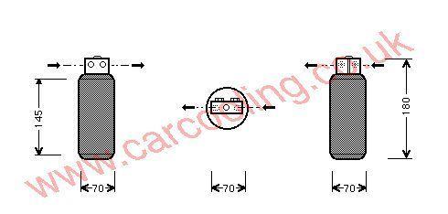 Drier SAAB 900 II 4230462