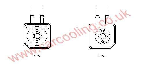 Oil Cooler Skoda Superb 028.117.021 E
