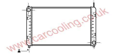 Radiator Merc. 507 D Ecovan    668.500.0101 / 0601