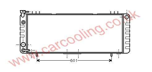 Radiator Jeep Cherokee    52004921