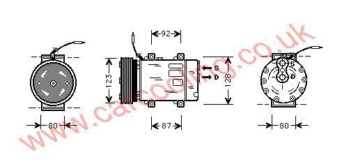 Compressor Renault Megane Scenic    7700866828