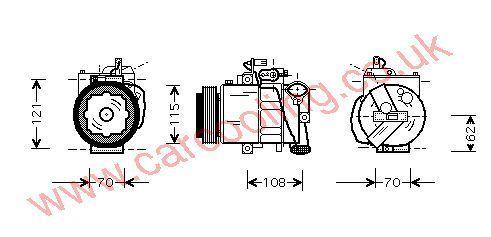 Compressor Skoda Roomster 6Q0820803G