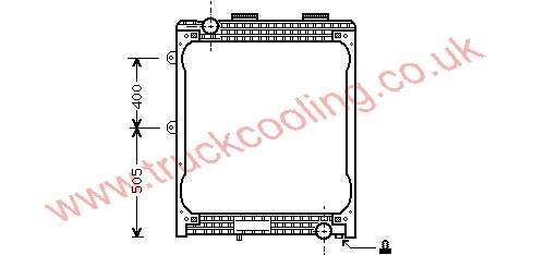 Radiator Man F2000    81.06101.6438 /